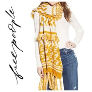 Free People Two tone scarf